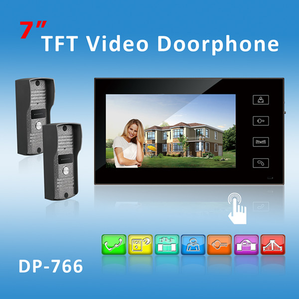 2014 hot sell colour video door phone