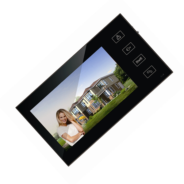 7 inch video doorbell with touch key design