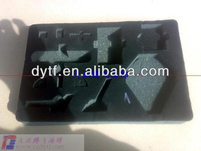 customer made packing foam sponge box/high density protective foam sponge/special shape packing foam sponge