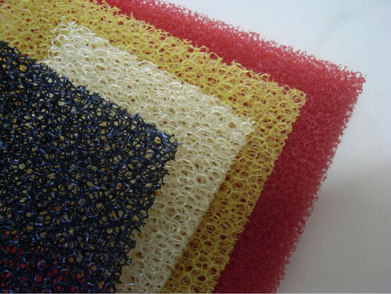 mix colored sponge scouring pad