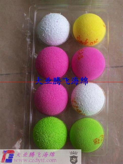 Promotional Wholesale Sponge Various Sponge Balls