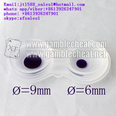 small contact lens with 6mm diameters | color part | for marked cards