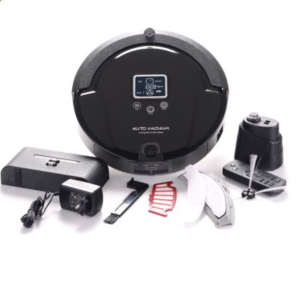 Smart UV light for sterilization Robot Vacuum Cleaner