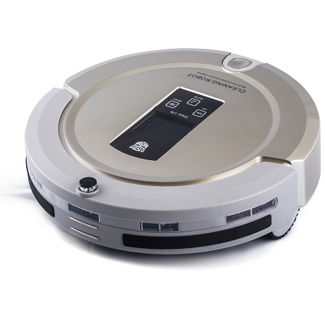 Auto Remote Controller Robotic Vacuum Cleaner