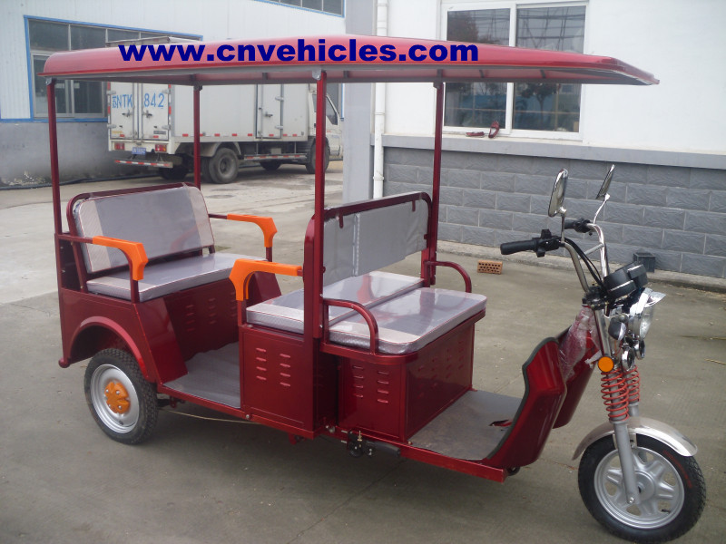 electric tricycle for passeners/cargo