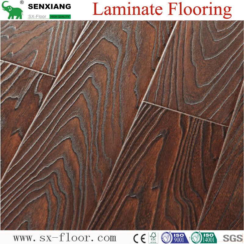 12mm Deep Registered Embossed Laminated Flooring
