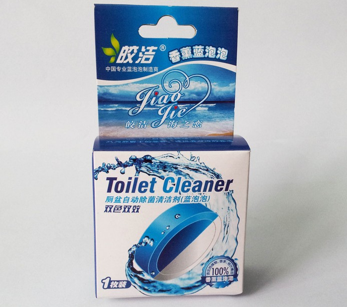Toilet Bowl Cleaner Toilet Detergent Blue Flush Blue Bubble