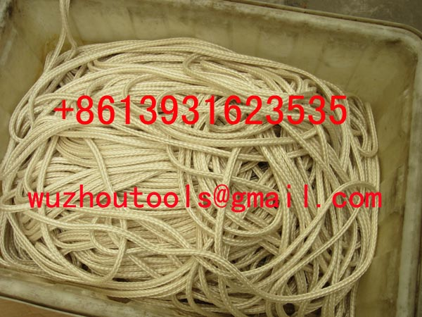 braided Polyester rope eye splicing braided rope