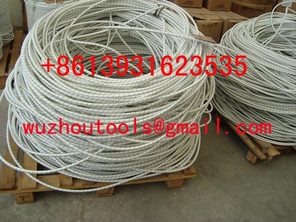 Plastic rope strands hawser rope Polypropylene braided rope