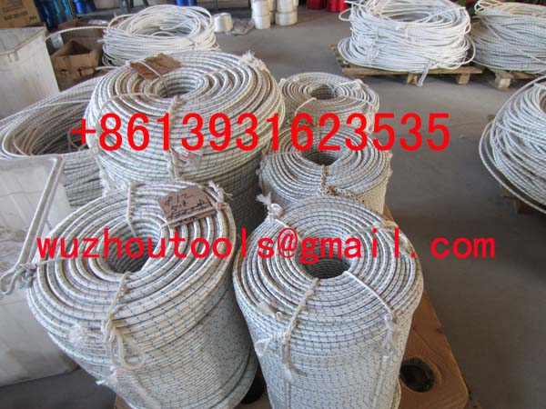 PP hollow braided rope PP multifilament braided twine
