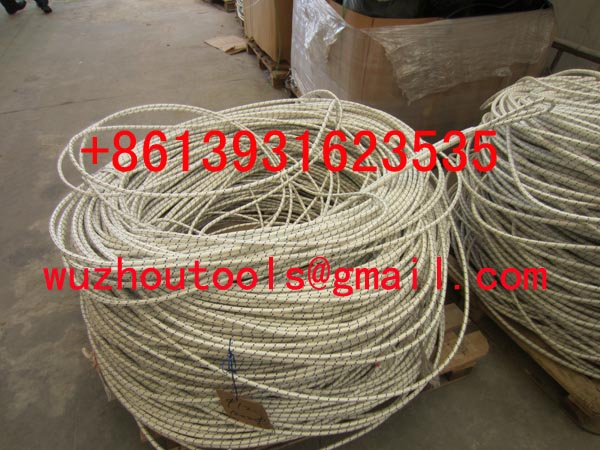 Polypropylene solid braided rope PP rope with braided rope or twisted rope