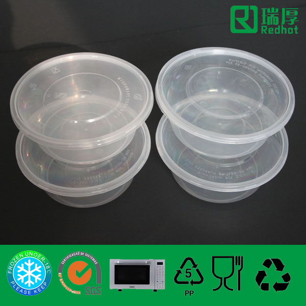 Recycled Eco-Friendly Disposable Container for Food Packing 625ml