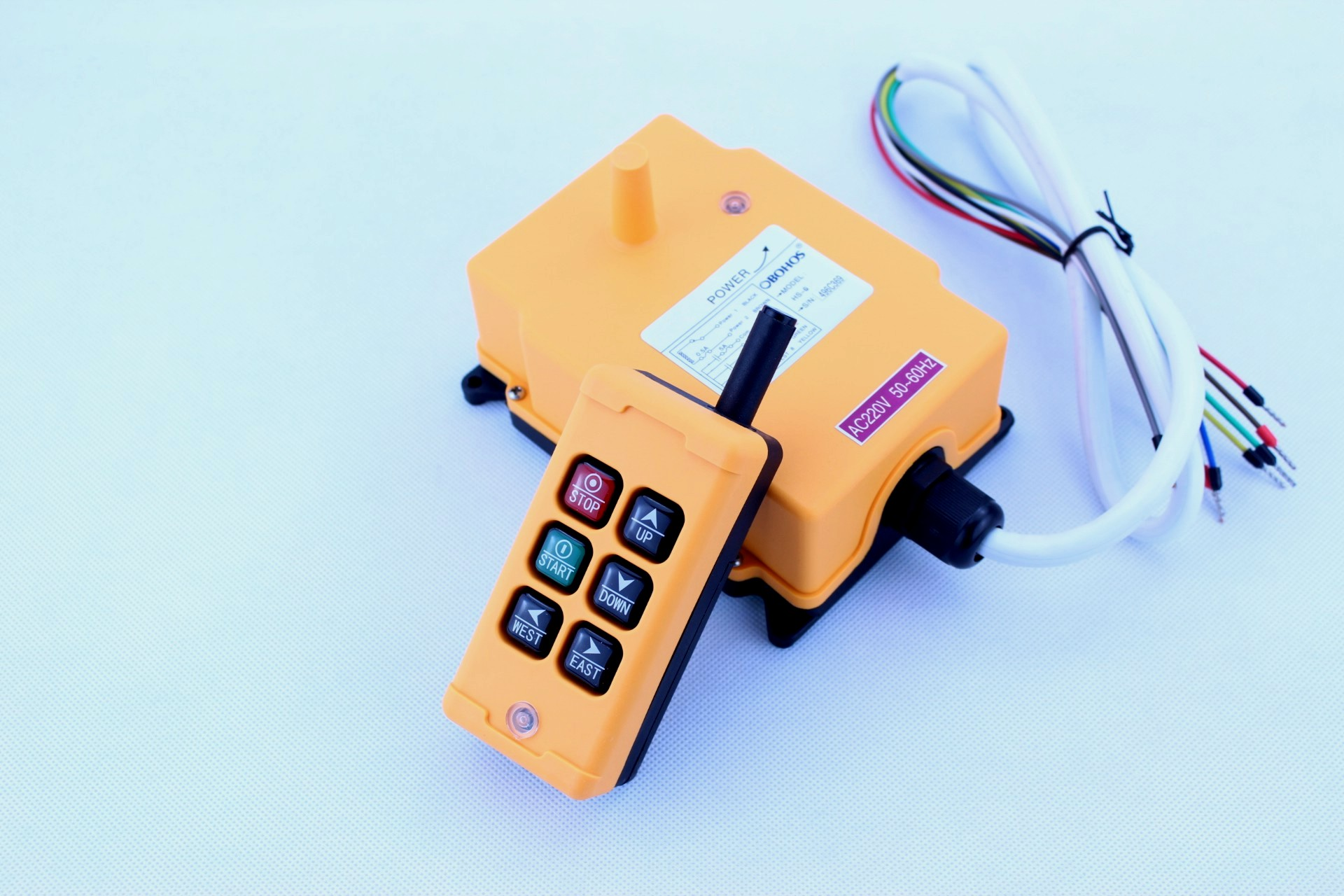 HS-6 Industrial Wireless Remote Control System for Crane Hoist