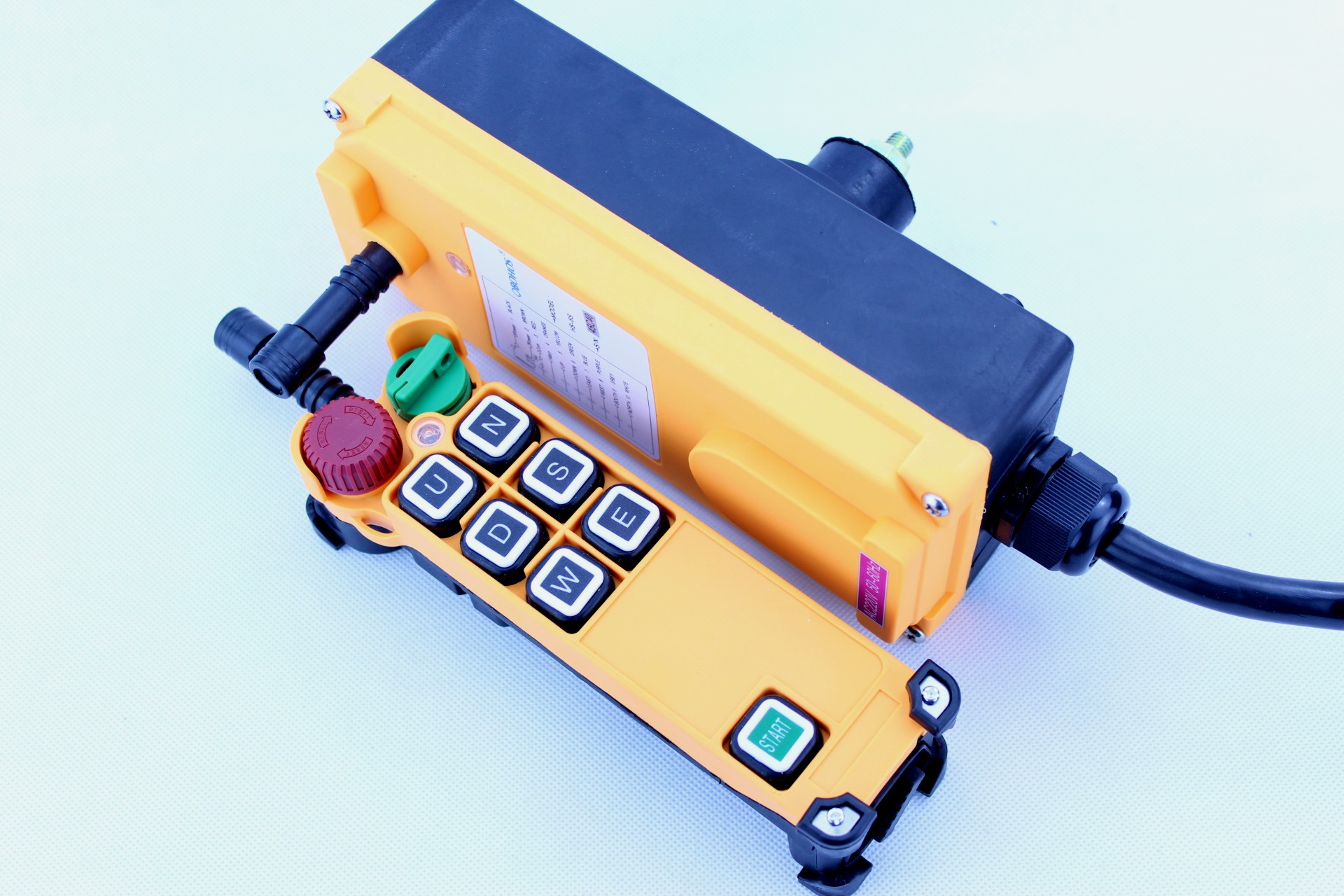 HS-6S/D Single/Double Speed Industrial Wireless Remote Control System for Crane Hoist