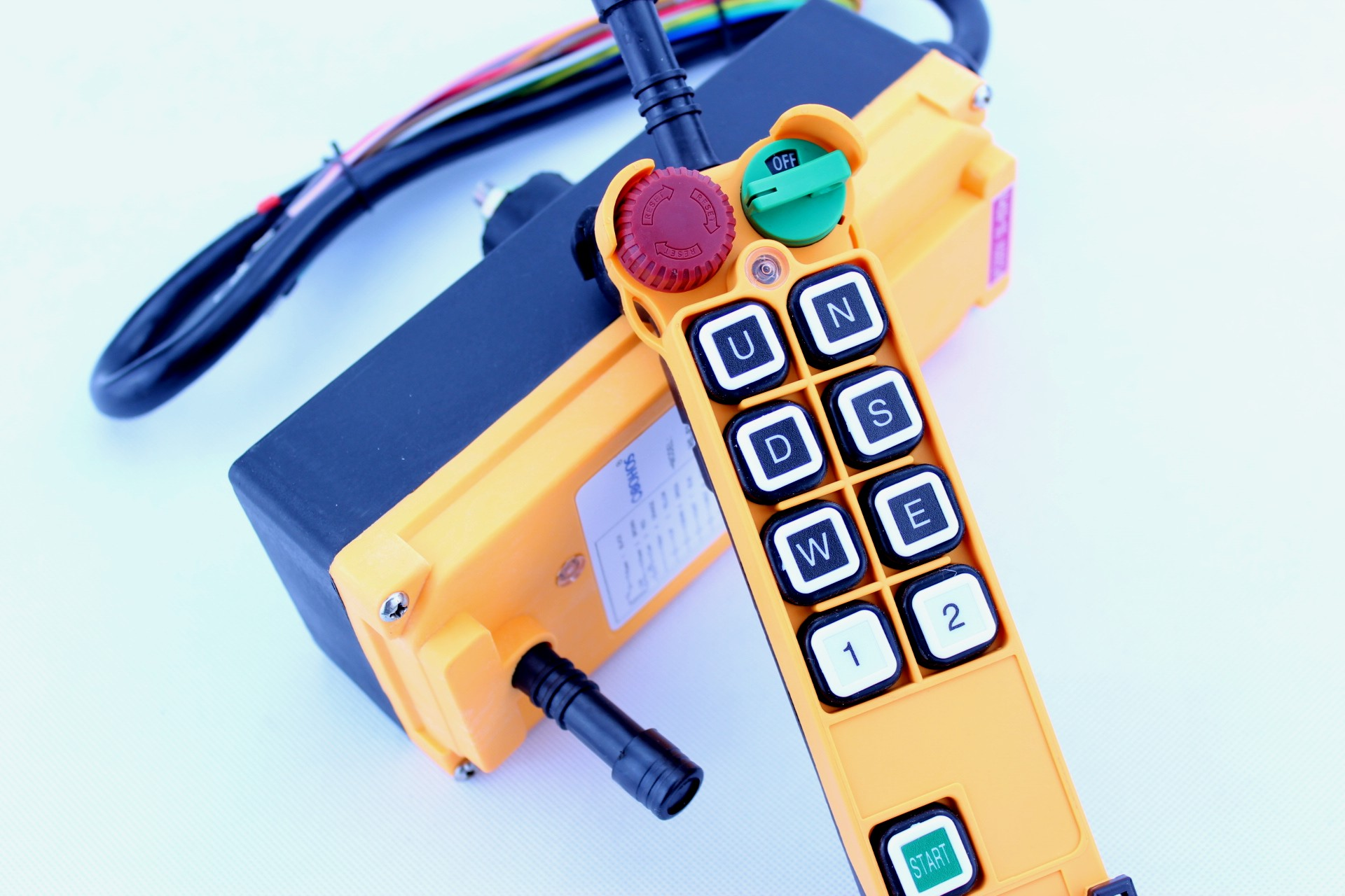 HS-8S/D Single/Double Speed Industrial Wireless Remote Control System for Crane Hoist