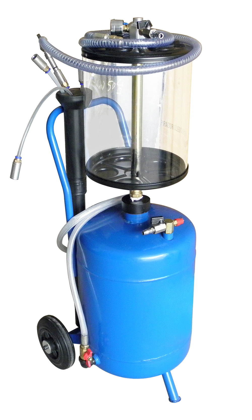 3027 pneumatic pumping waste oil machine