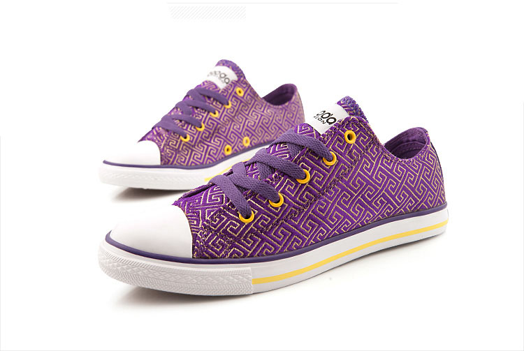 girls canvas flat casual vulcanized shoes