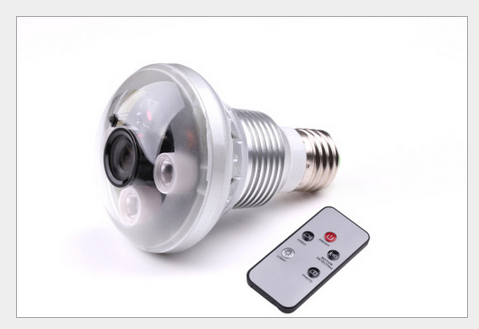 New Style720P DVR 5MP 36LED Bulb CCTV Security DVR IR Camera  Night Vision Invisible to Human Eyes At Night  Home Improvement