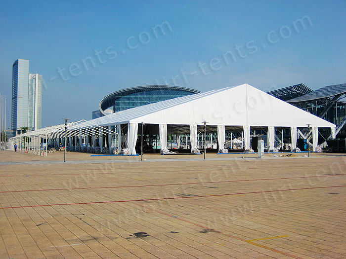 White wedding tent for sale