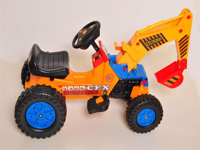 New Excavator Electric Toy Cars for Kids 515
