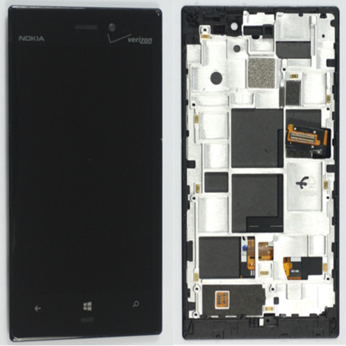 For Nokia Lumia 928 LCD Display+Touch+Frame Assembly