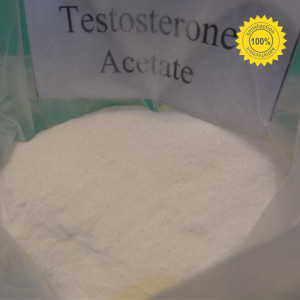 Muscle Building Raw Steroid USP32 Testosterone Acetate CAS: 1045-69-8