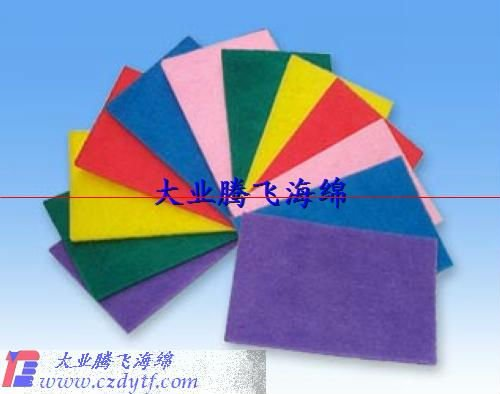 eva sponge material sheet/waterproof sheet foam sponge material