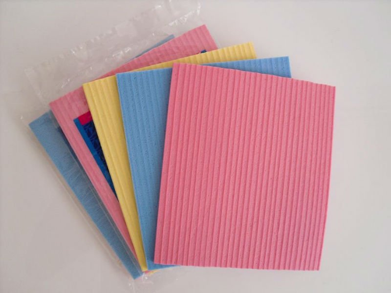 cellulose cleaning sponge/compressed cellulose sponge