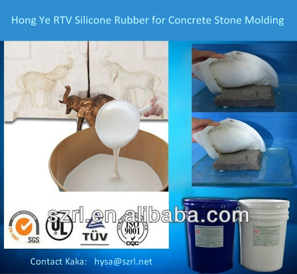 RTV Silicon Rubber for Concrete Stone Molds Making