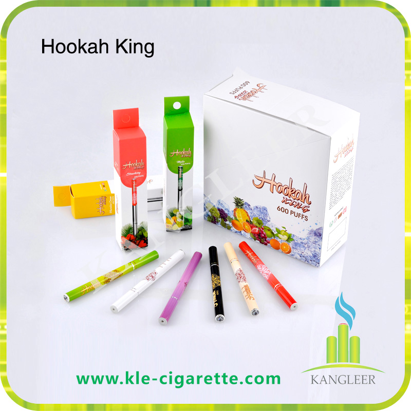 Disposable Electronic Cigarette EHookah King EShisha with Fruit Flavors