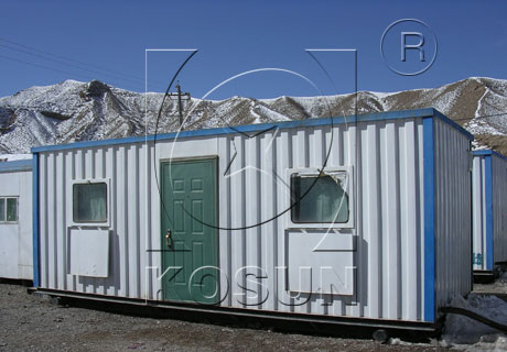 Oilfield camp room