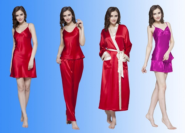 pure silk sleepwear