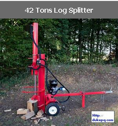 42 Tons Log Splitter