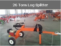 26 Tons Log Splitter