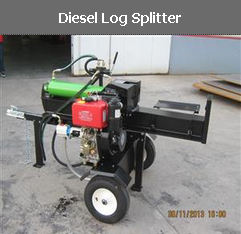 Diesel Log Splitter