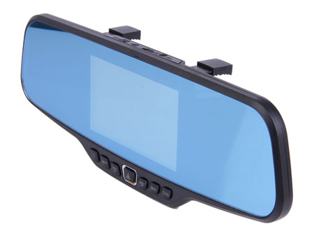 2014 Best View Blue Mirror Rearview Car DVR 1080P FHD