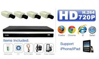 IK-213N4K 2MP NVR KIT