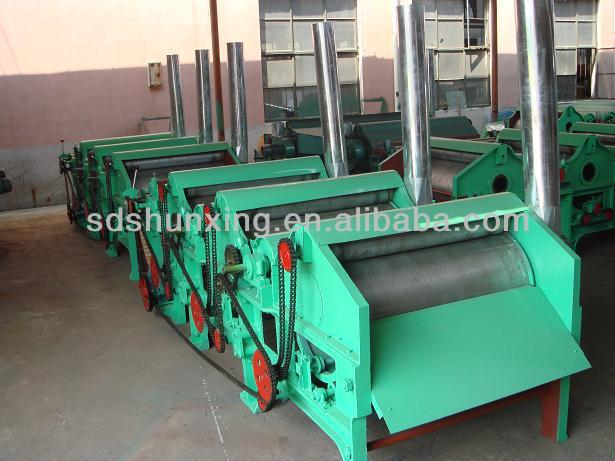 Waste Polyester Yarn And Cotton Recycling Machine