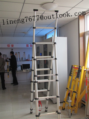 Aluminium Telescopic and extension ladder