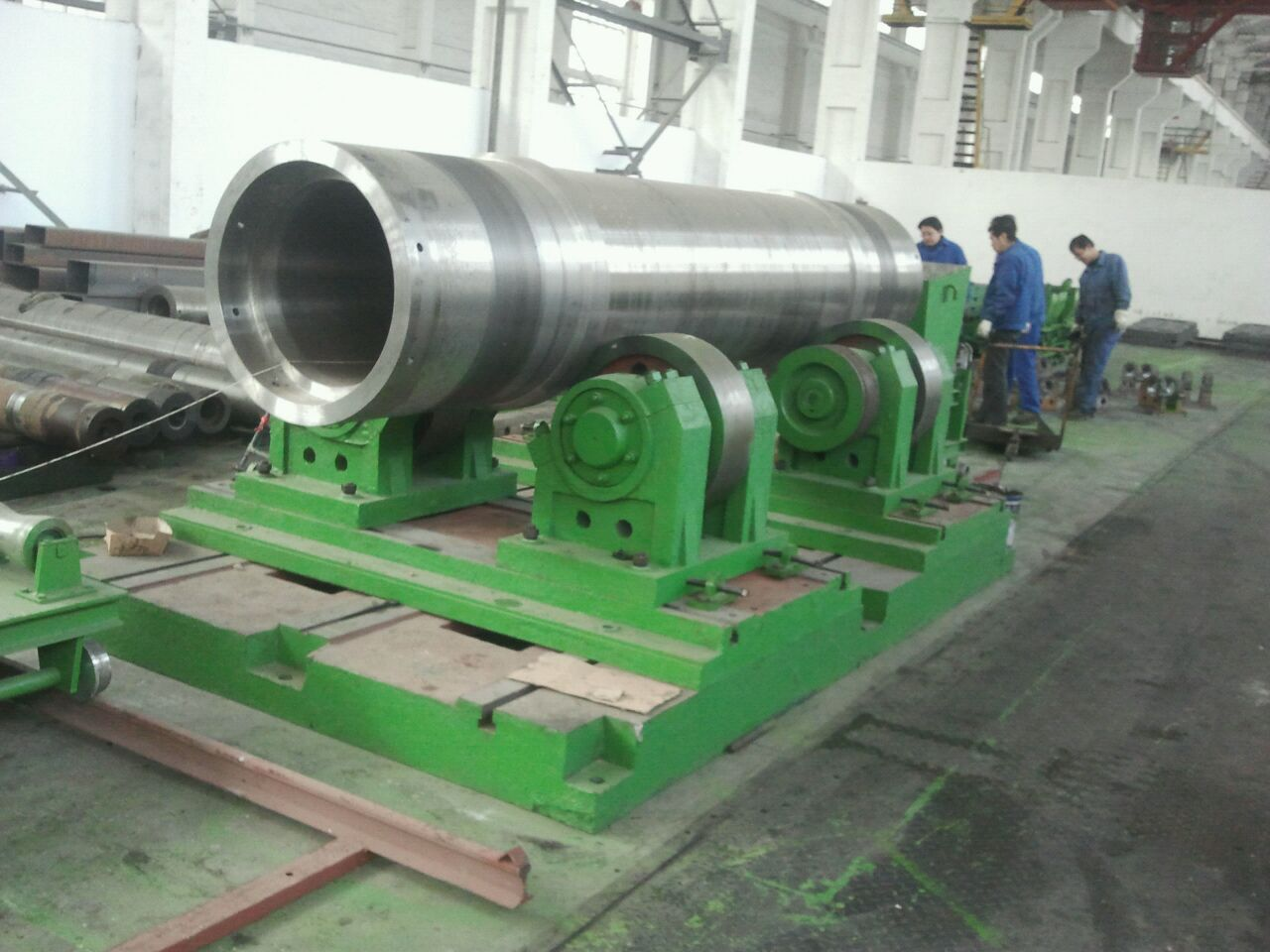 Centrifugal casting machine