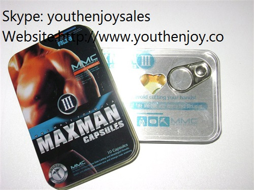 MAXMAN III 10 Gold Sex Capsules 100% Natural and Safe to Achieve Your Full Natural Size