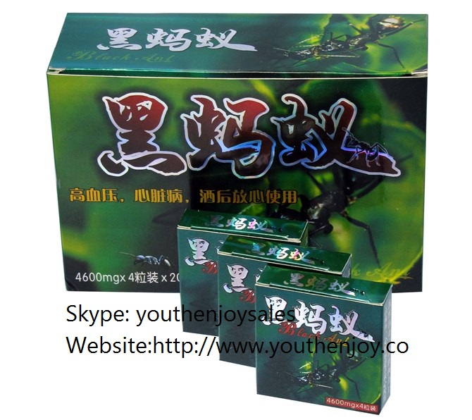Black Ant Male Sex Capsules Green Box Version