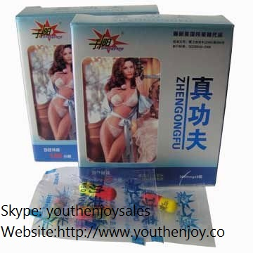 Zhengongfu Male Sex Capsules Blue Box Version