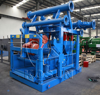 The drilling mud cleaner