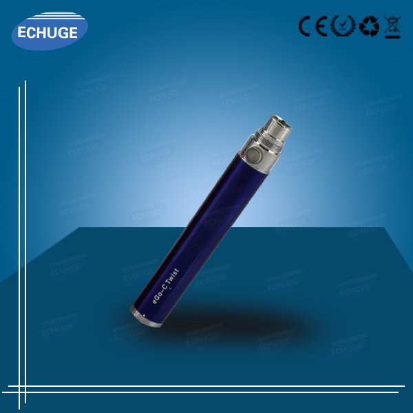 electric cig for sale Ego twist Battery trophy tank replacement coilatomizer