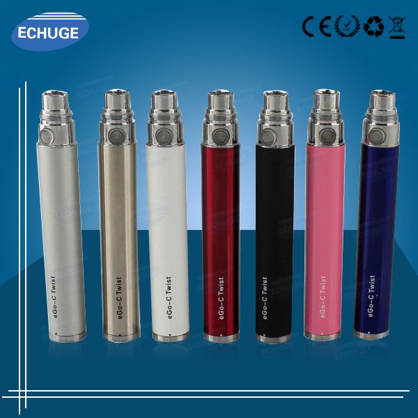 Unique Anti-Smoking Gift E Cig ego twist with CE4+ CE5 CE6 atomizer