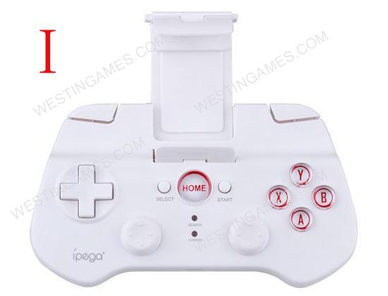 IPEGA PG-9017 Wireless Bluetooth 3.0 Game Controller for iPad / iPhone / Android / iOS PC - White
