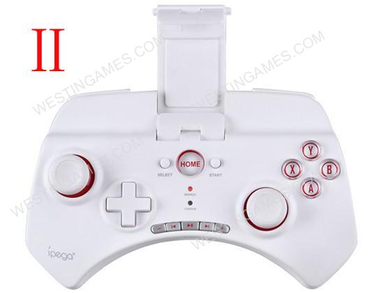 IPEGA PG-9025 Bluetooth 3.0 Multi-Media Controller for iPad / iPhone / Android / iOS PC - White