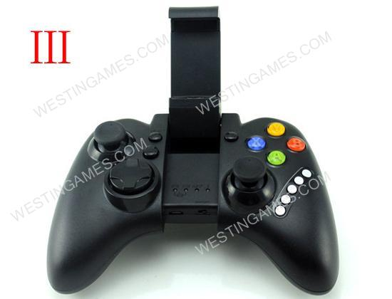 IPEGA PG-9021 Wireless Bluetooth V3.0 Classic Gamepad for iPhone / IPAD / Smartphone / IOS - Black
