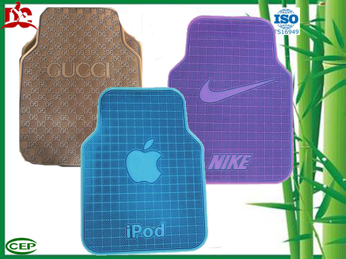 High elastic and free cleaning car floor mats
